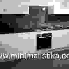 Minimalistika.com Éléments de cuisine Panneau d'aggloméré Blanc