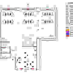 Bureau Place Opera Espaces de bureaux industriels par J.Ortiz Architecture Industriel