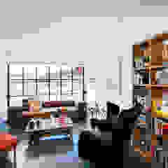 SILVA PEREZ Salas modernas de Modismo Moderno