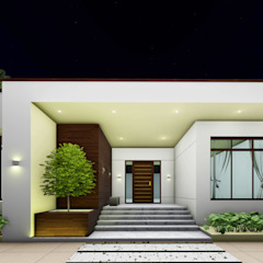 من Bristan Architects & Interior Designers تبسيطي طوب
