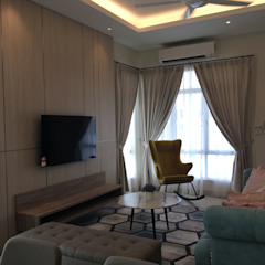 Private Residence @ Caspia M2 Rawang by Bien Interiors Sdn Bhd Modern