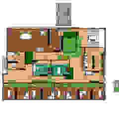 Interieurontwerp Gezondheidscentrum Moderne gezondheidscentra van THIES Design Modern