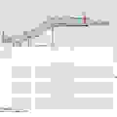 Salones de eventos de estilo industrial de Müllers Büro Industrial Hierro/Acero