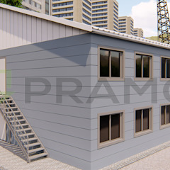 por PRAMO PREFABRİCATED & STEEL Industrial Ferro/Aço
