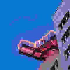 Salones de eventos de estilo industrial de Müllers Büro Industrial