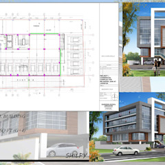 Ruang Komersial Modern Oleh Shilpy architects&consultants Modern