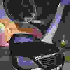من THGO arquitetura e design إنتقائي خشب Wood effect