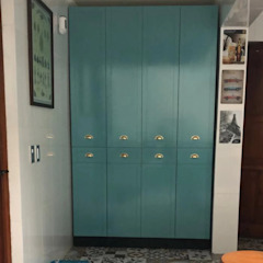 Entorno Estudios KitchenStorage Chipboard Turquoise