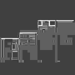Slope House Sowi Gunung 2.0 Oleh GUBAH RUANG studio Modern Batu Bata