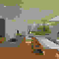 Modern kitchen by NOMA/桑原淳司建築設計事務所 Modern