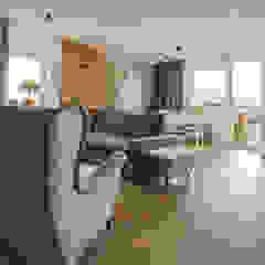 jak w domu Skandynawski salon od Architektura wnętrz new design Skandynawski