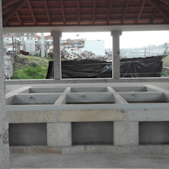 توسط Pedro Nogueira Gonçalves Construções کلاسیک گرانیت