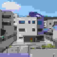 용인에 위치한 '도란도란' 3층 단독주택 by 한글주택(주) 모던 콘크리트
