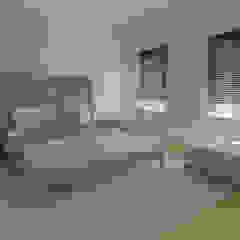 Sypialnia by ISPMedia Minimalist OSB