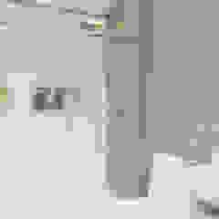 BANHEIRO SOCIAL Banheiros minimalistas por ELIZAMA LIMA ARQ Minimalista