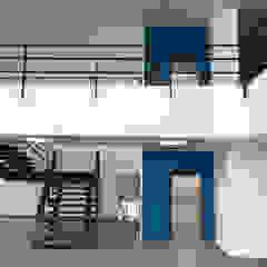 Minimalist office buildings by Elevadores Altius SA de CV Minimalist Concrete