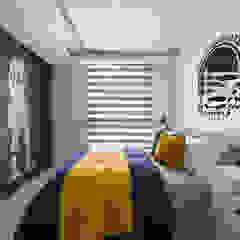 Dormitorios infantiles coloniales de 存果空間設計有限公司 Colonial