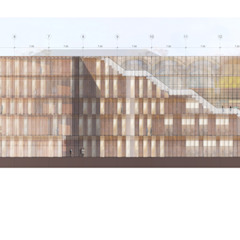 Escolas modernas por GilBartolome Architects Moderno