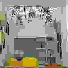 Zona de estudio Aranjuez Habitaciones modernas de Decó ambientes a la medida Moderno