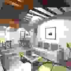 Modelo Constructivo 115 - 138 Casas estilo moderno: ideas, arquitectura e imágenes de R&R Construccion Moderno