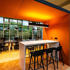 Industrial style office buildings by stanke interiordesign Industrial