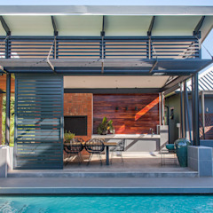 Pool Pavillion by Urban Habitat Architects Modern