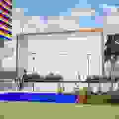 Salones de eventos de estilo moderno de Danilo Rodrigues Arquitetura Moderno