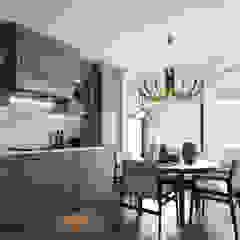 MUTFAK PROJESİ Rustik Mutfak WALL INTERIOR DESIGN Rustik