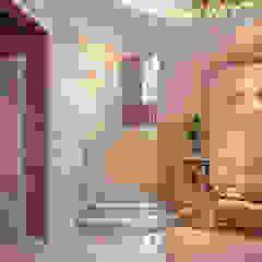 нежная классика Коридор, прихожая и лестница в классическом стиле от галерея дизайна Мускат Классический