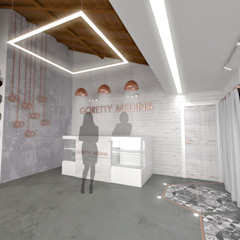 Cares Studio Commercial Spaces Concrete White