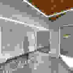 Cares Studio Espaces commerciaux minimalistes Céramique Gris