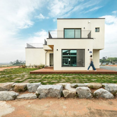 순박함이 담긴 전원주택 by 한글주택(주) 클래식 철근 콘크리트