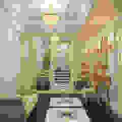 Загородный дом в Сочи Коридор, прихожая и лестница в классическом стиле от дизайн-студия 'Футурум' Классический