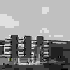 SATVA INTERNATIONAL SCHOOL Modern schools by FURGONOMICS ARCHITECTS Modern