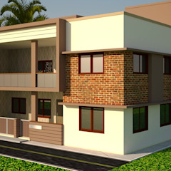 Oleh Nirav Design Modern Batu Bata