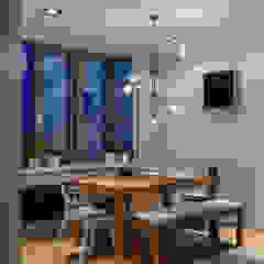 SAZONOVA group Scandinavian style dining room