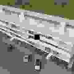 Edificio multifamiliar - Ílhavo por Miguel Salvadorinho Arquitecto Moderno Pedra