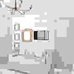 de DIKTURE Arquitectura + Diseño Interior Moderno Madera Acabado en madera