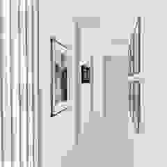Diseño interior y mobiliario. Apto 305 Pasillos, vestíbulos y escaleras de estilo moderno de DIKTURE Arquitectura + Diseño Interior Moderno Madera Acabado en madera
