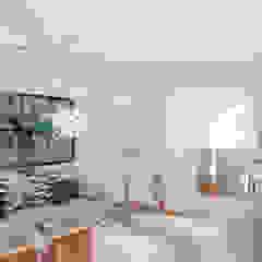 Diseño interior y mobiliario. Apto 305 Salas modernas de DIKTURE Arquitectura + Diseño Interior Moderno Cerámico