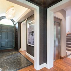 St Johns Wood renovation and conversion Classic style corridor, hallway and stairs by Compass Design & Build Classic
