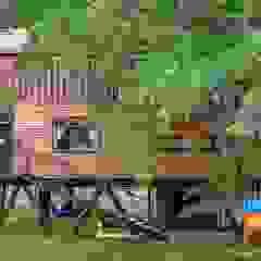 A Casa Suspensa Casas campestres por Casa Container Marilia - Arquitetura em Container Campestre