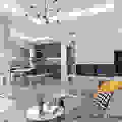 4-room BTO flat Modern living room by Swish Design Works Modern Plywood