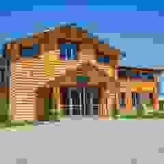 by STUDIO DESIGN КРАСНЫЙ НОСОРОГ Rustic Wood Wood effect