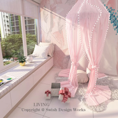 Bukit Batok West Ave 8 Modern living room by Swish Design Works Modern