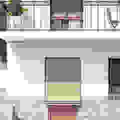 Śródziemnomorskie ściany i podłogi od Beam Estudio Śródziemnomorski