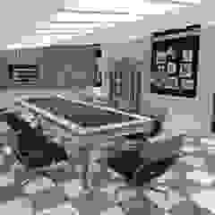 Koloniale kantoorgebouwen van INTERIUM DESIGN Koloniaal Houtcomposiet Transparant