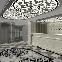 Hotéis coloniais por INTERIUM DESIGN Colonial