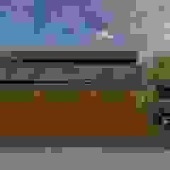 de RAWI Arquitetura + Design Minimalista Madera Acabado en madera
