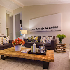 Residence in Zimbali Golf estate Modern living room by Architech Modern Wood Wood effect